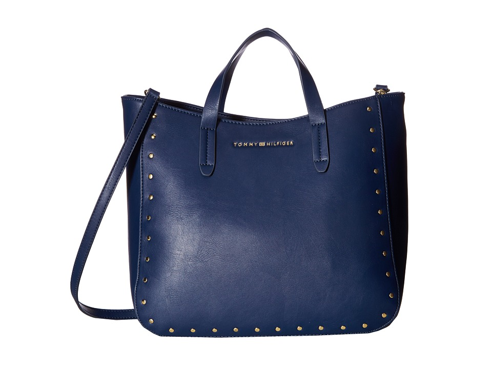 Tommy Hilfiger - Betty Convertible Tote (Tommy Navy) Tote Handbags