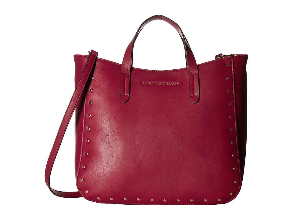 Tommy Hilfiger - Betty Convertible Tote (Cabernet) Tote Handbags