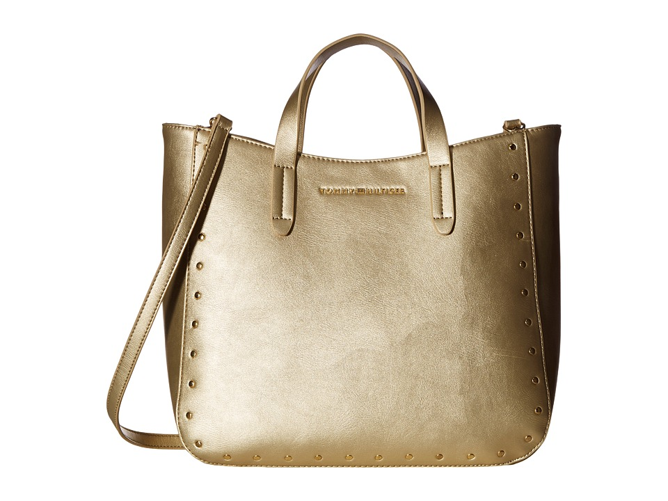 Tommy Hilfiger - Betty Convertible Tote (Gold) Tote Handbags