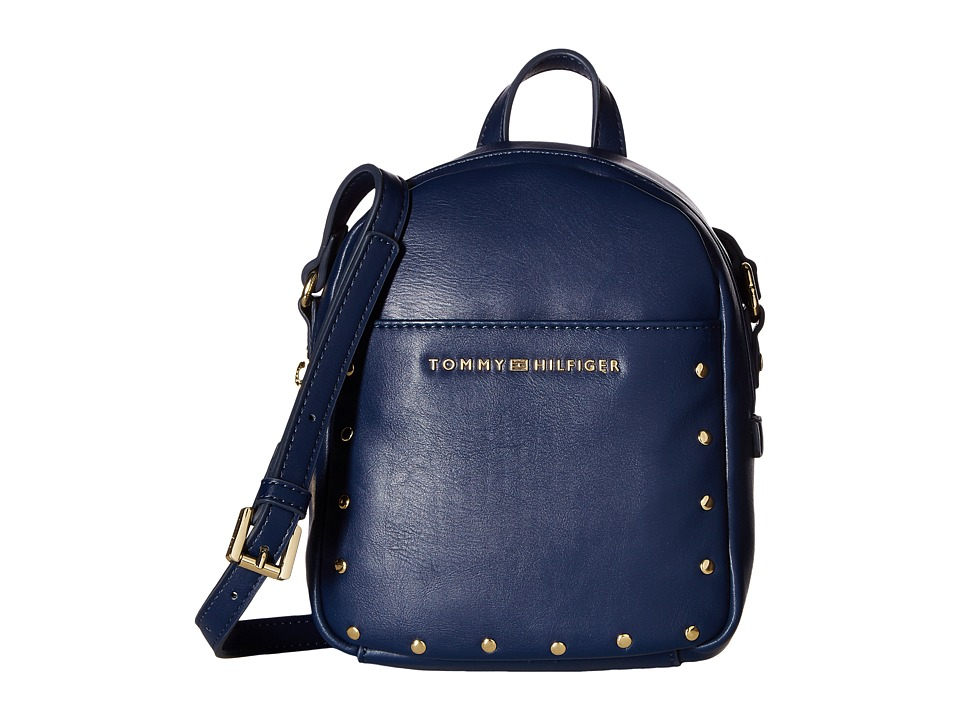 Tommy Hilfiger - Betty Mini Backpack Crossbody (Tommy Navy) Backpack Bags