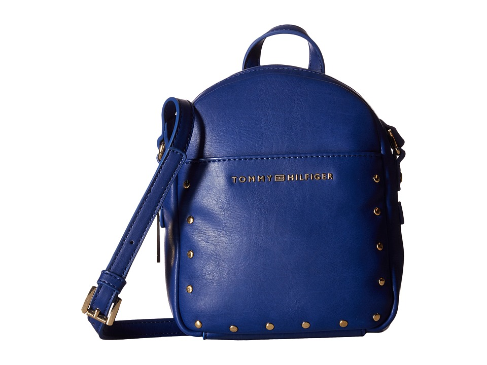 Tommy Hilfiger - Betty Mini Backpack Crossbody (Cobalt) Backpack Bags