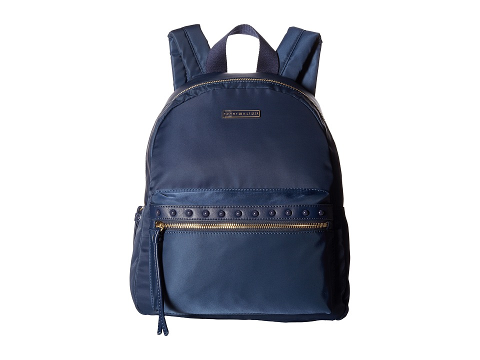 Tommy Hilfiger - Corinne Dome Backpack Nylon (Tommy Navy) Backpack Bags