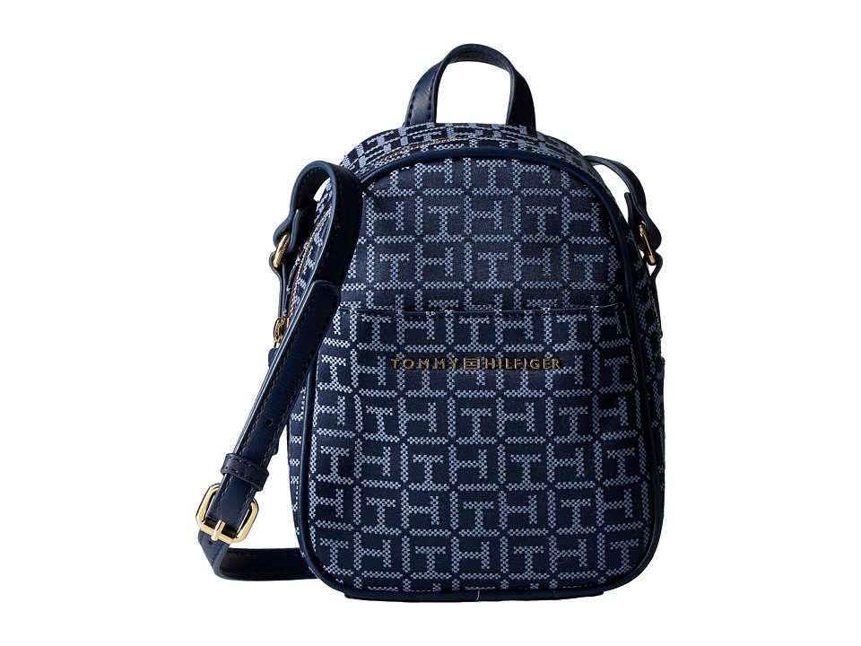 Tommy Hilfiger - Juliette Mini Backpack Crossbody (Navy/Lapis) Backpack Bags