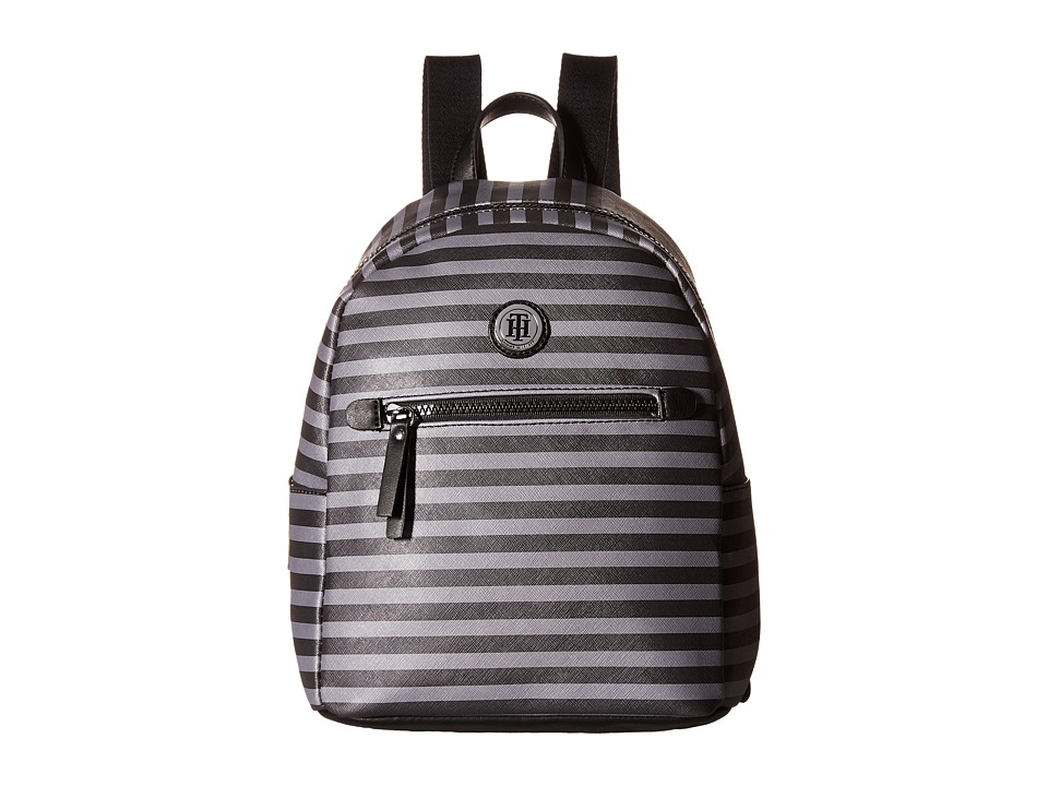 Tommy Hilfiger - Willow II Small Backpack (Gray Tonal) Backpack Bags
