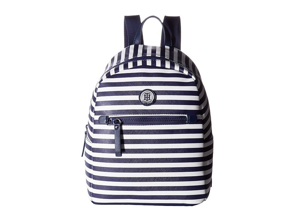 Tommy Hilfiger - Willow II Small Backpack (Navy/Cream) Backpack Bags