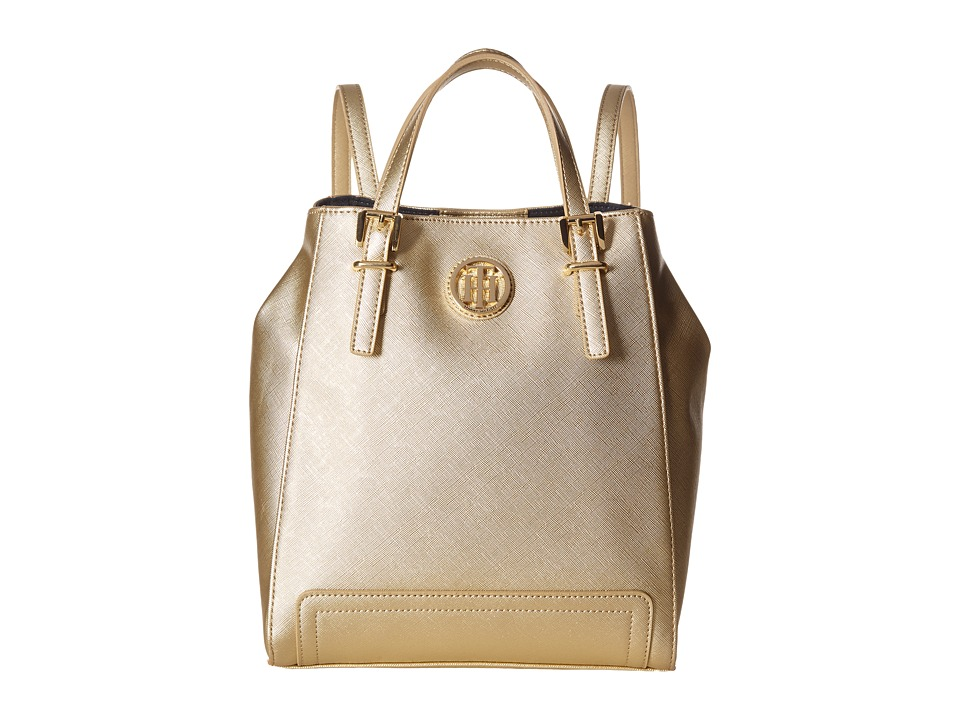 Tommy Hilfiger - Honey Backpack (Gold) Backpack Bags
