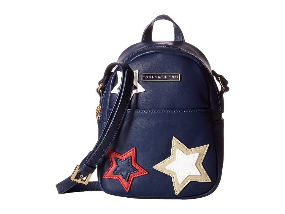 Tommy Hilfiger - Aurora Mini Backpack Crossbody (Tommy Navy) Backpack Bags