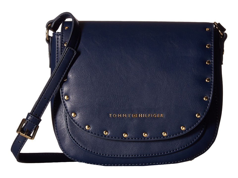 Tommy Hilfiger - Betty Saddle Bag (Tommy Navy) Bags