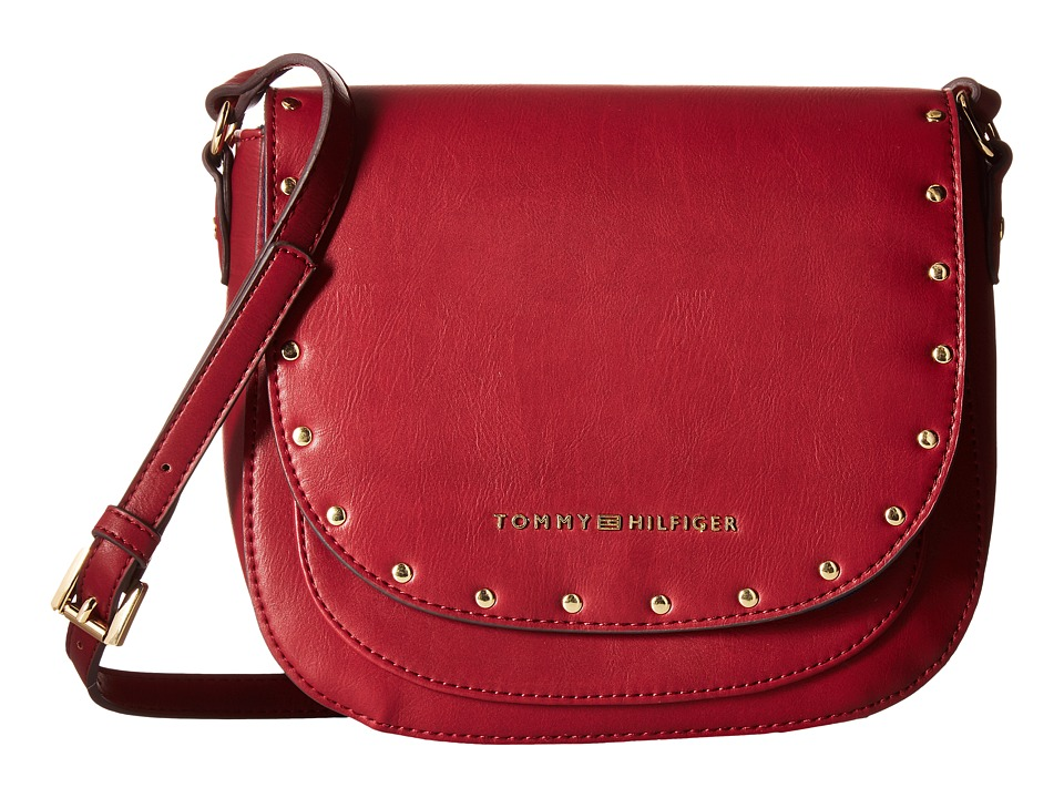 Tommy Hilfiger - Betty Saddle Bag (Cabernet) Bags