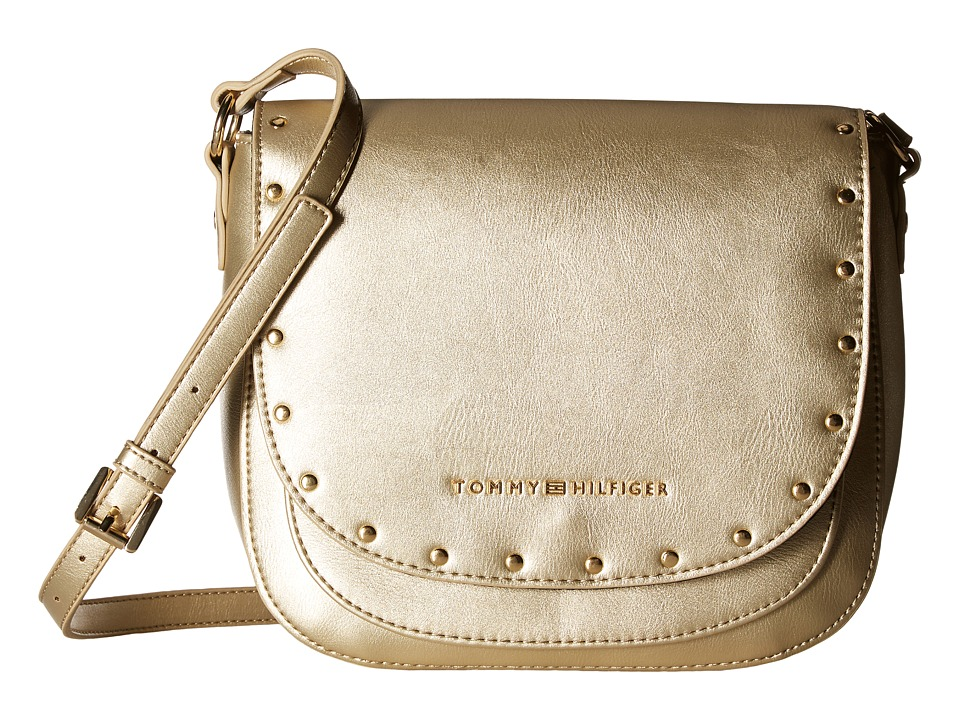 Tommy Hilfiger - Betty Saddle Bag (Gold) Bags