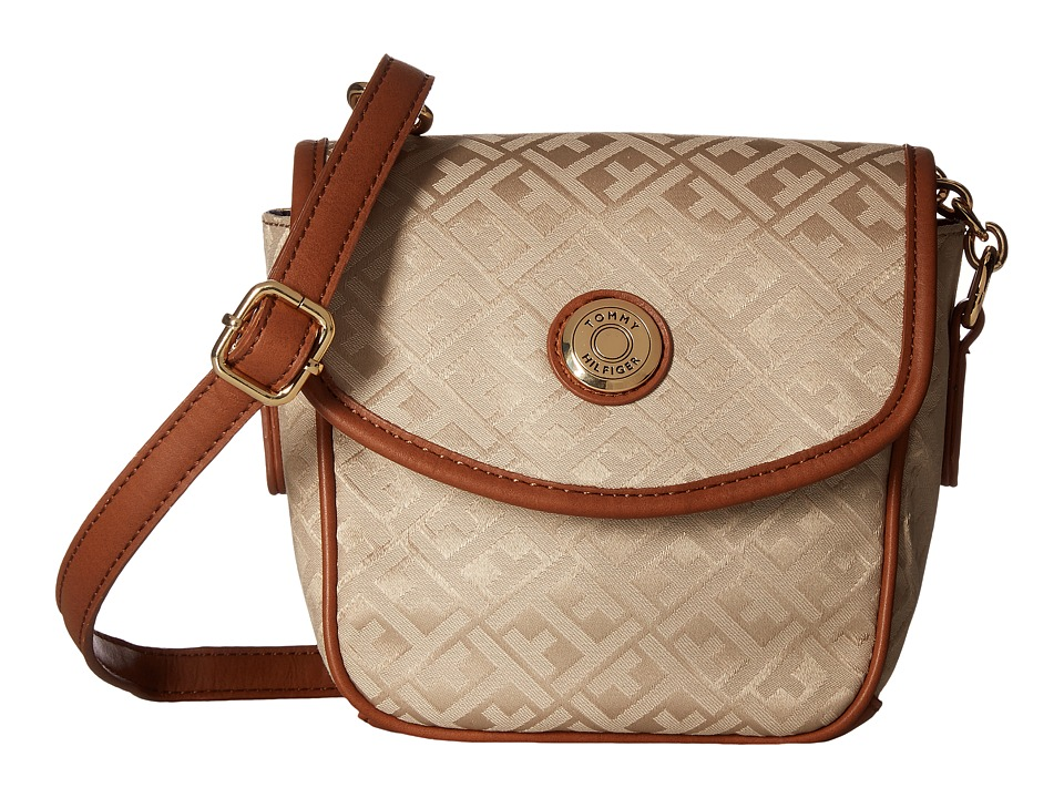 Tommy Hilfiger - Saddle Bag Item II (Khaki/Tonal) Bags