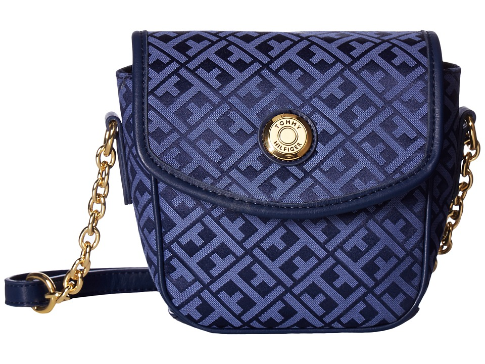 Tommy Hilfiger - Saddle Bag Item II (Navy/Lapis) Bags