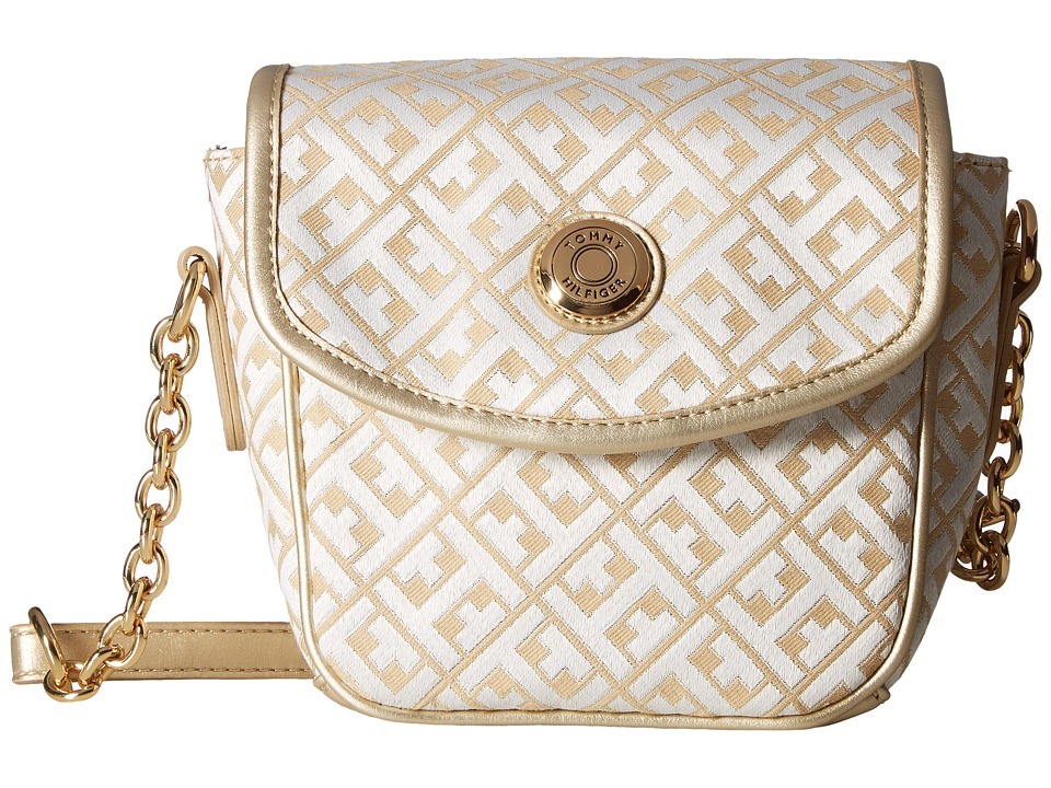 Tommy Hilfiger - Saddle Bag Item II (Gold Metallic) Bags