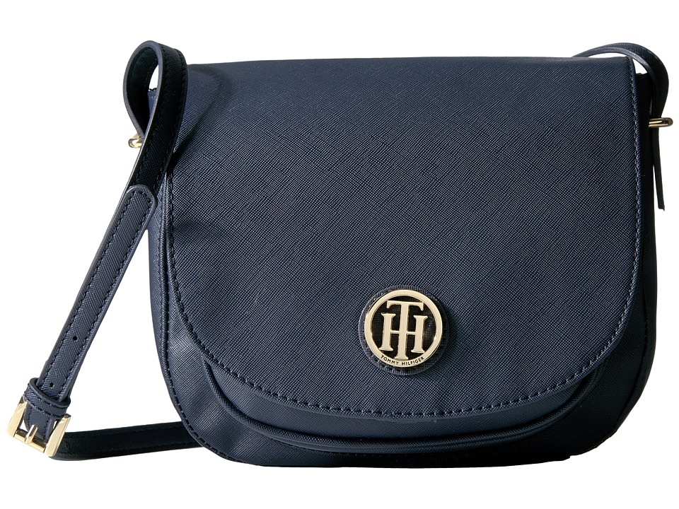 Tommy Hilfiger - Honey Saddle Bag (Tommy Navy) Bags