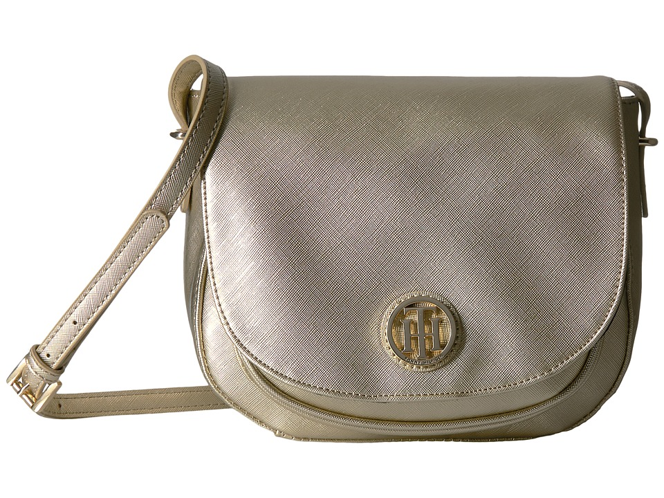 Tommy Hilfiger - Honey Saddle Bag (Gold) Bags