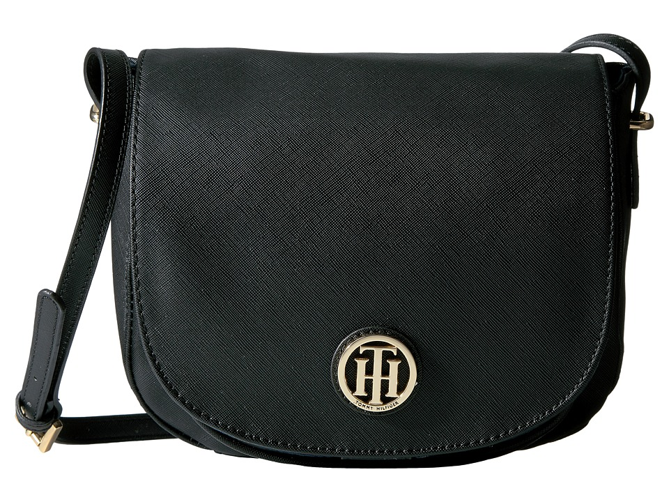 Tommy Hilfiger - Honey Saddle Bag (Black) Bags