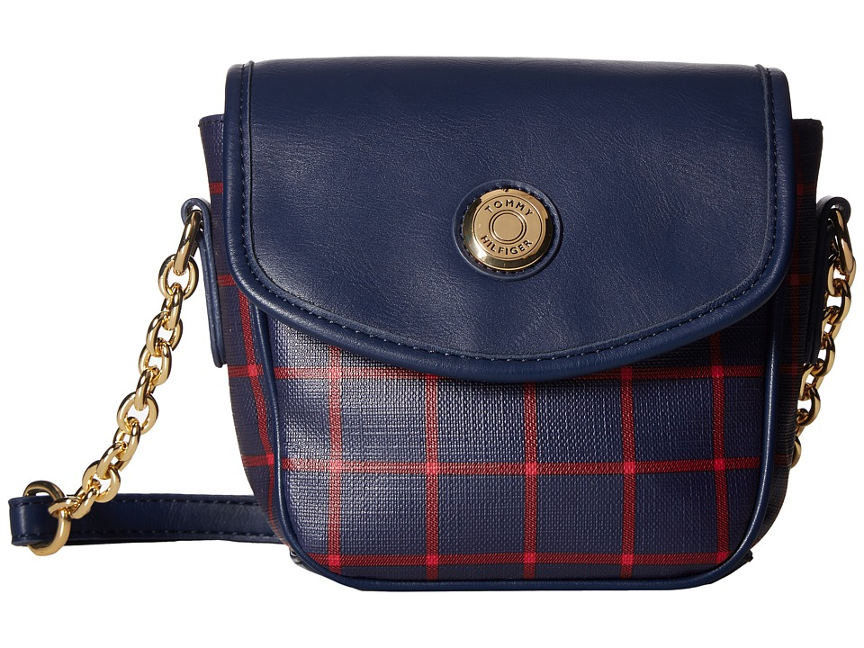 Tommy Hilfiger - Saddle Bag Item II (Navy/Red) Bags