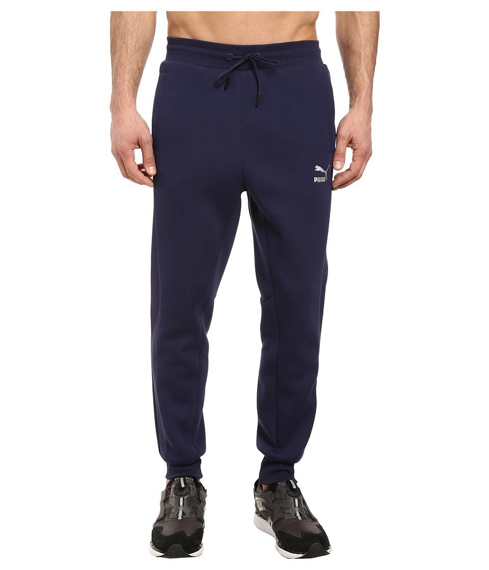 PUMA - Evo T7 Sweatpants (Peacoat) Men's Casual Pants
