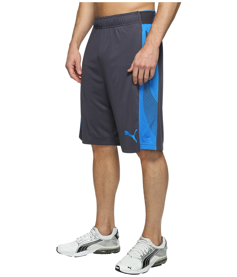 PUMA - Tilted Formstripe Shorts (Periscope/Electric Blue Lemonade) Men's Shorts