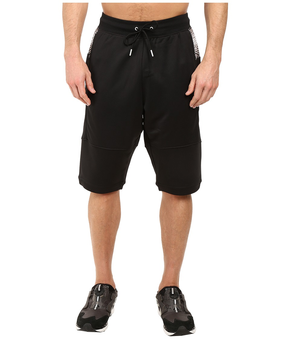 PUMA - MIA Progressive Shorts (Black) Men's Shorts
