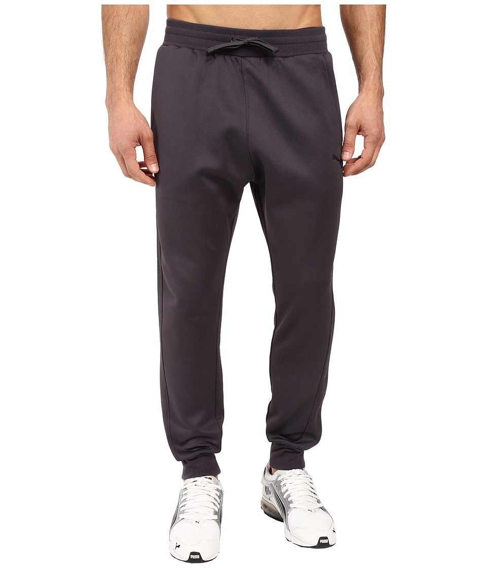 PUMA - Fleece Pants (Periscope/Black) Men's Casual Pants
