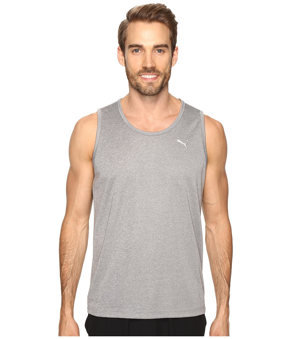 PUMA - Show It Off Singlet (Medium Gray Heather) Men's Clothing