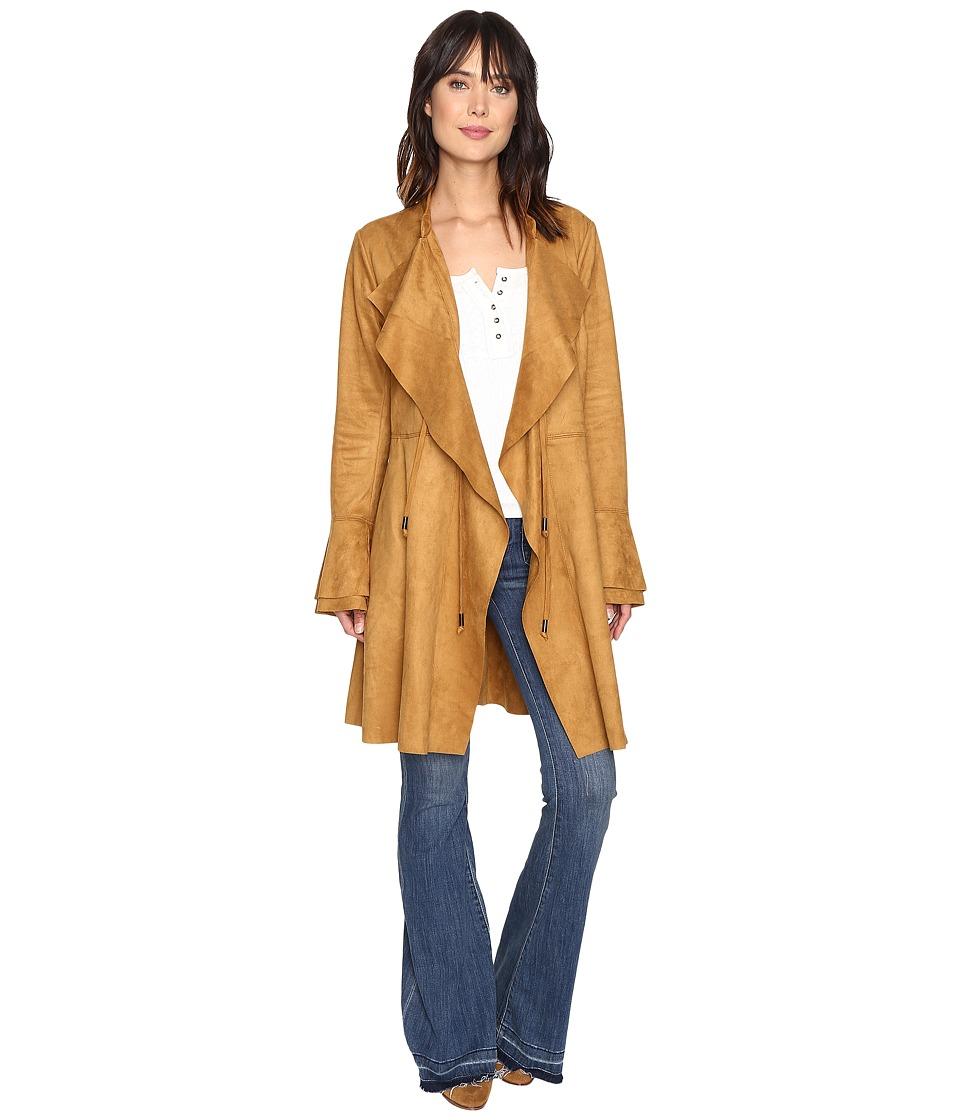 Free People - Meadow Faux Suede Jacket (Sand) Women's Coat