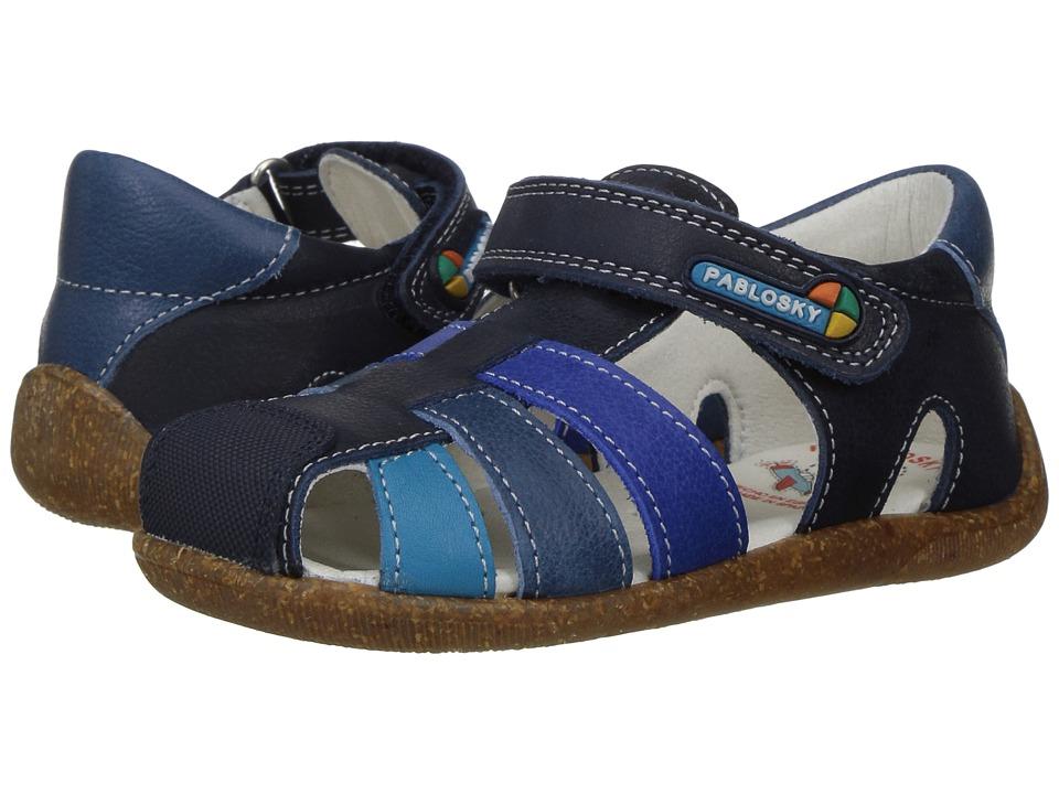 Pablosky Kids - 0012 (Infant/Toddler) (Navy) Boy's Shoes
