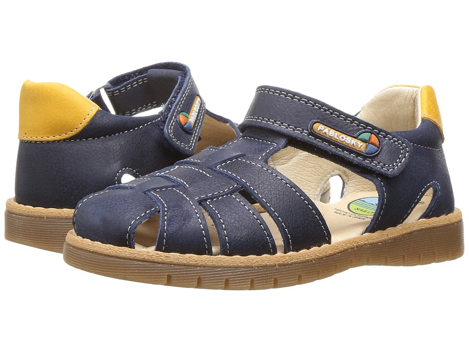 Pablosky Kids - 0062 (Toddler) (Navy) Girl's Shoes