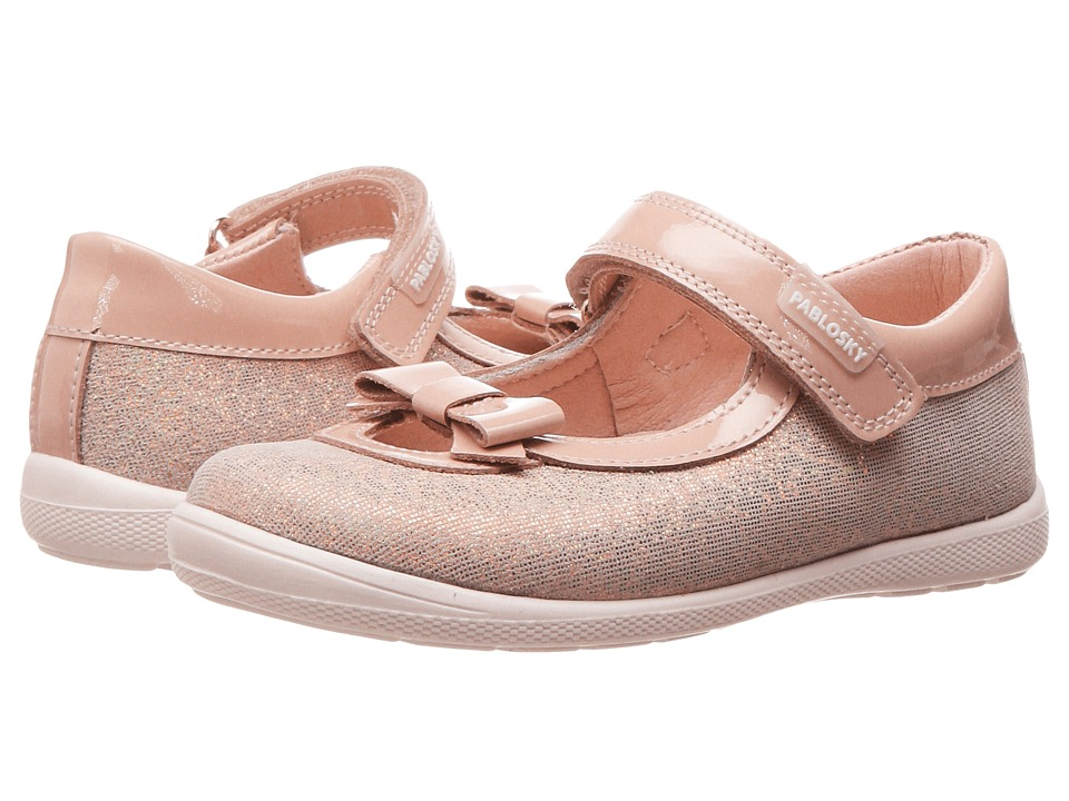 Pablosky Kids - 0083 (Toddler) (Sand) Girl's Shoes