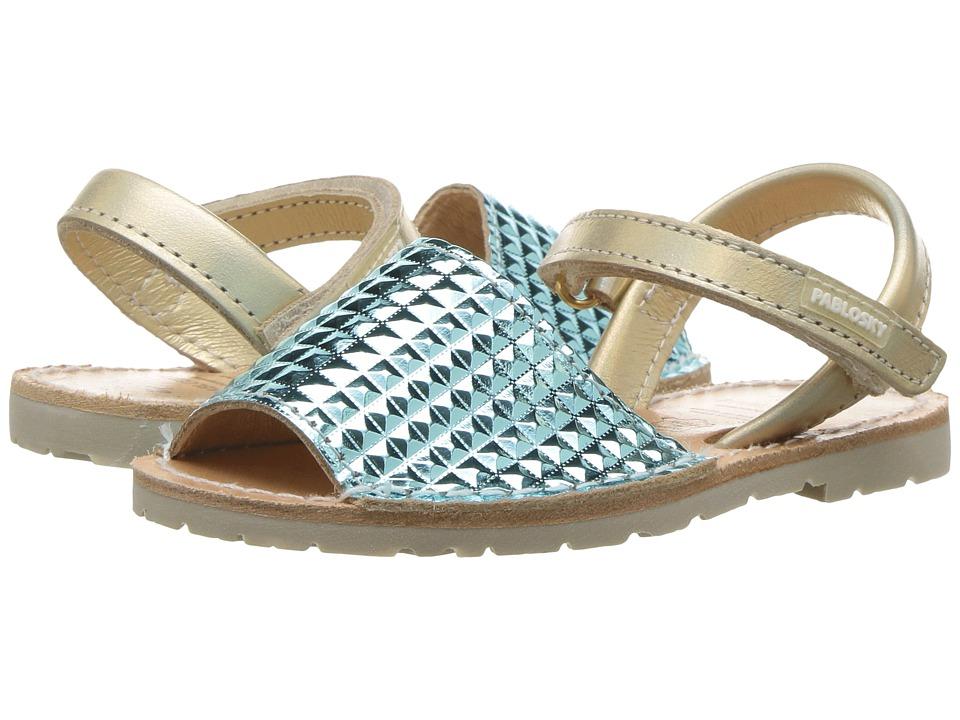 Pablosky Kids - 1211 (Toddler/Little Kid) (Blue) Girl's Shoes