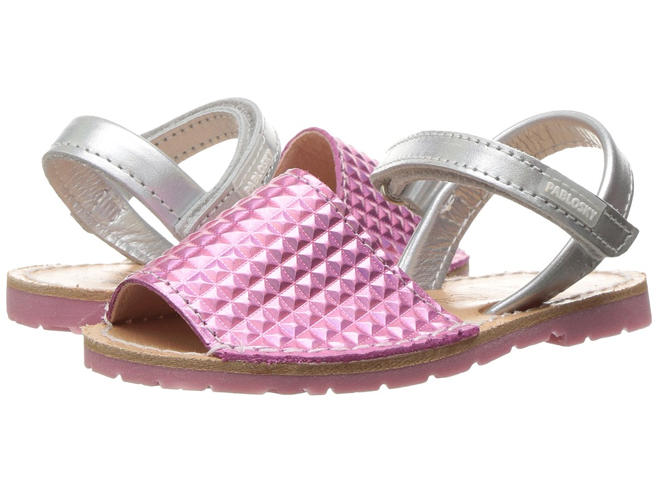 Pablosky Kids - 1211 (Toddler/Little Kid) (Pink) Girl's Shoes