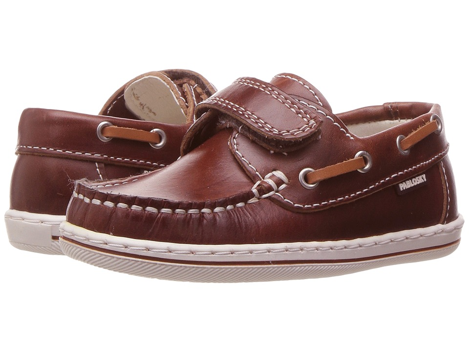 Pablosky Kids - 1214 (Toddler/Little Kid/Big Kid) (Brown) Boy's Shoes