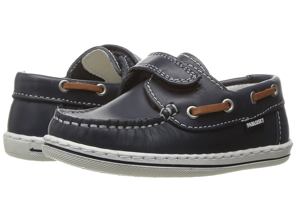 Pablosky Kids - 1214 (Toddler/Little Kid/Big Kid) (Navy) Boy's Shoes