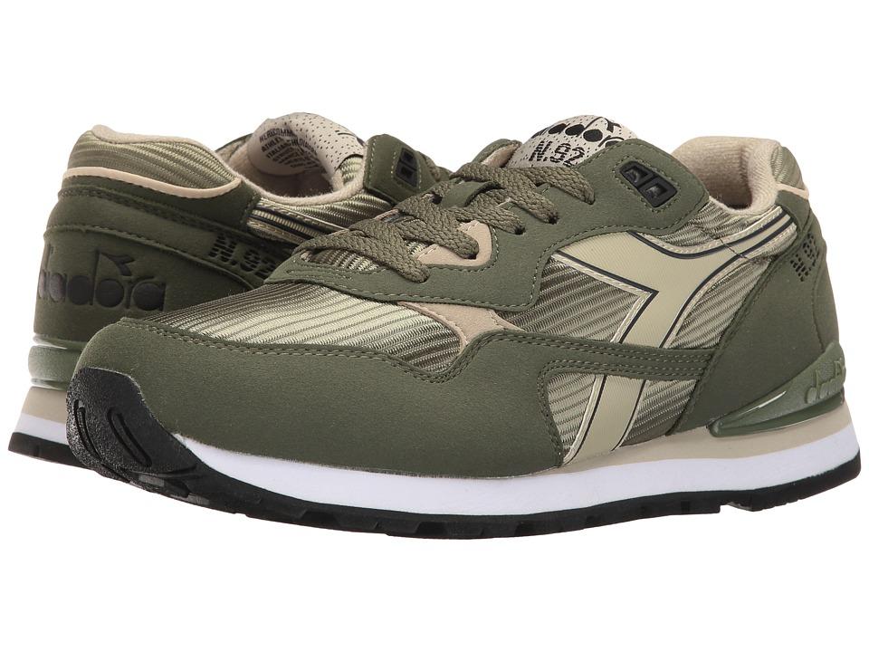 Mens Sneakers Diadora N 92 Olivine Green/Tidal Foam N362R3068I