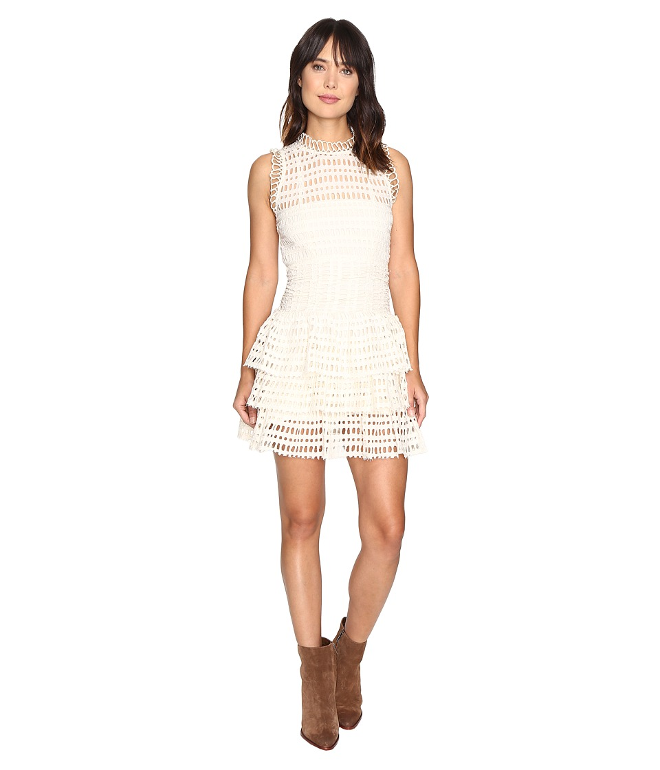 Free People - Meet Me At Midnight Mini Dress (Ivory) Women's Dress
