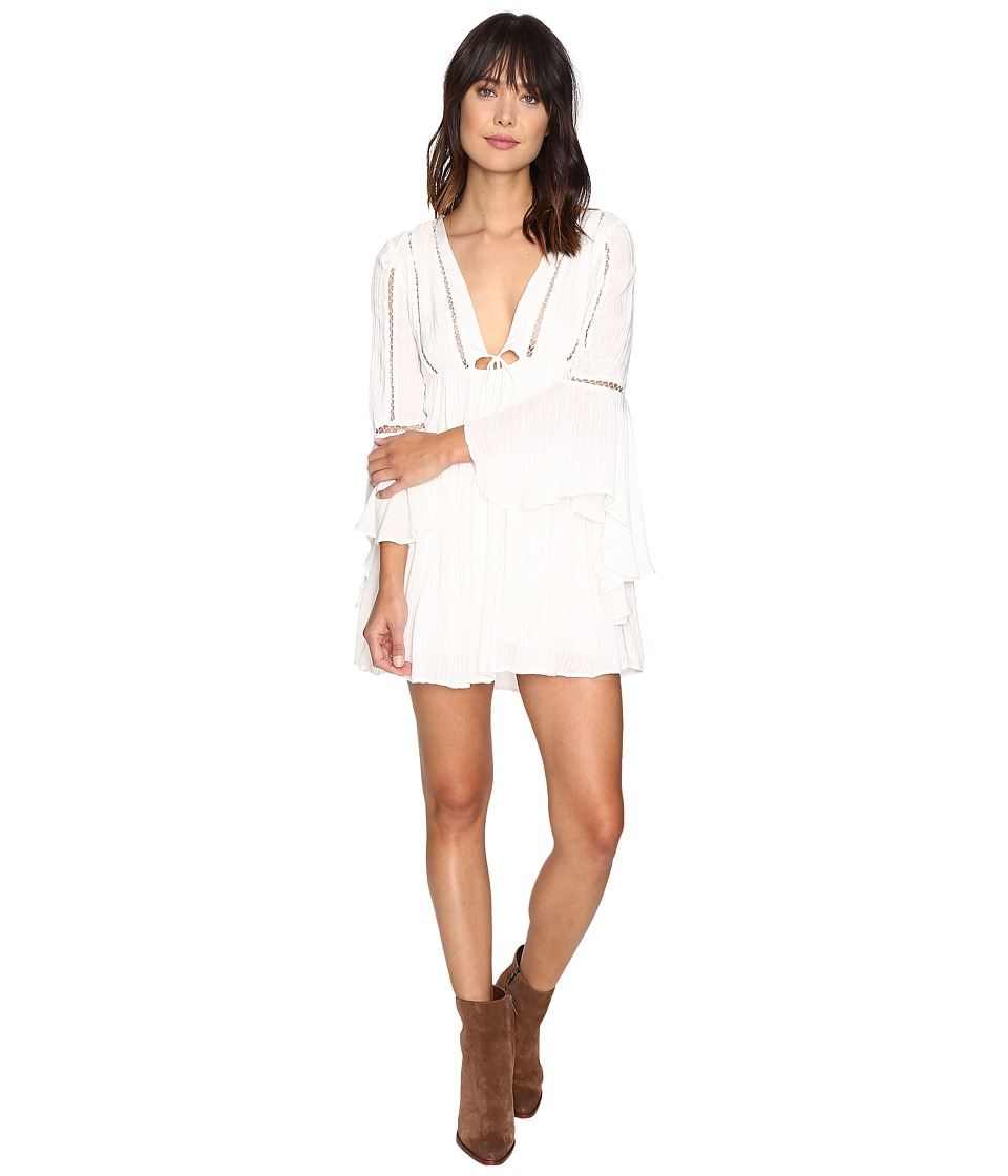 Free People - Romeo Mini Dress (Ivory) Women's Dress