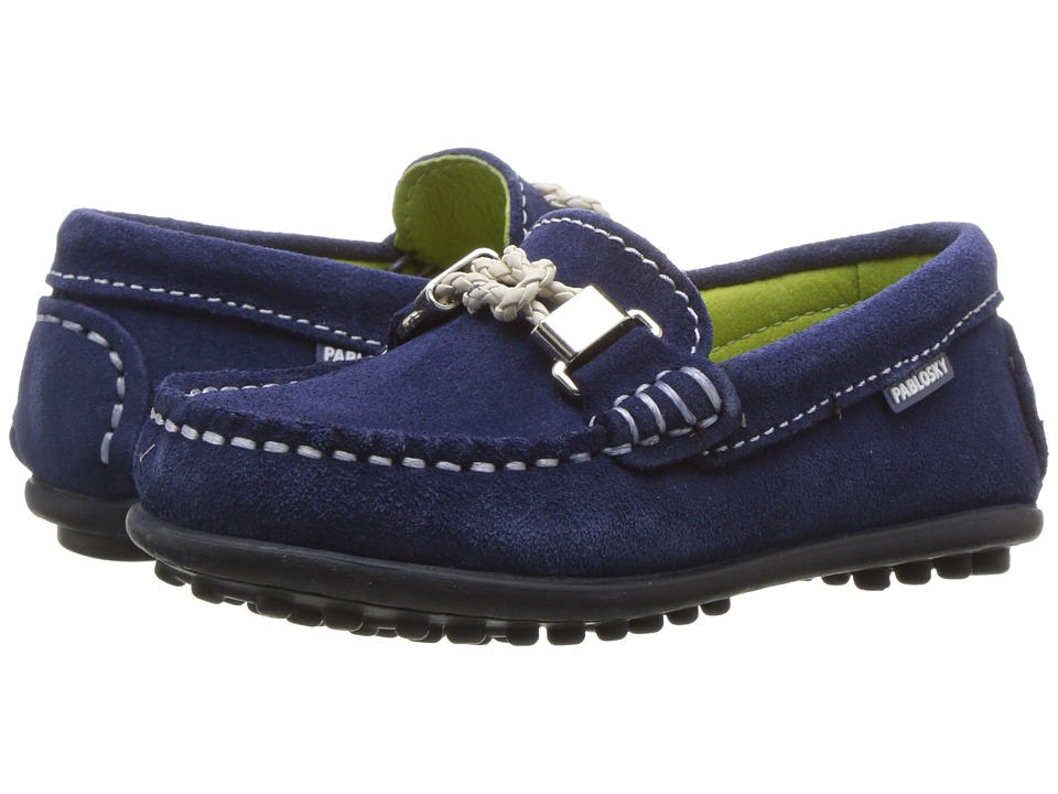 Pablosky Kids - 1224 (Toddler/Little Kid/Big Kid) (Navy) Boy's Shoes