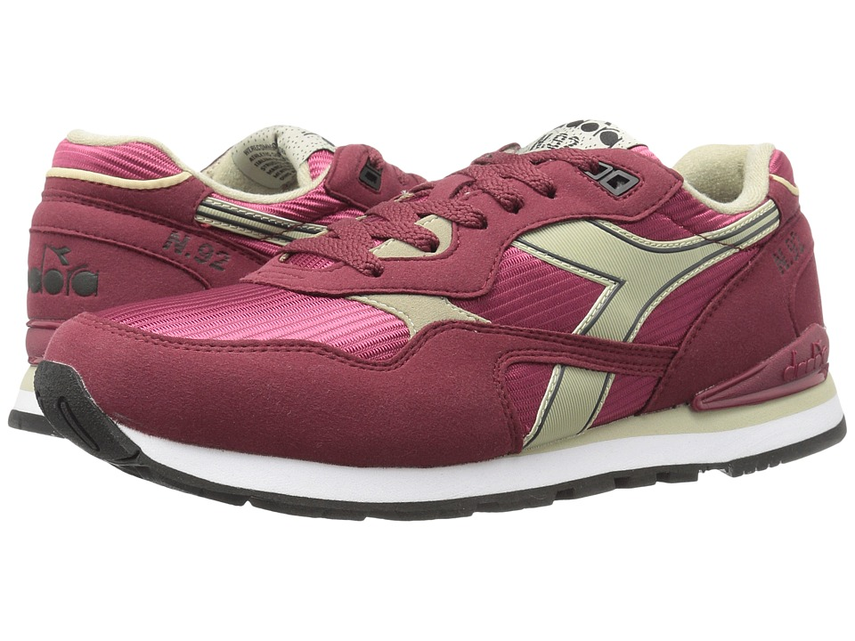 Diadora - N-92 (Cordovan/Tidal Foam) Athletic Shoes