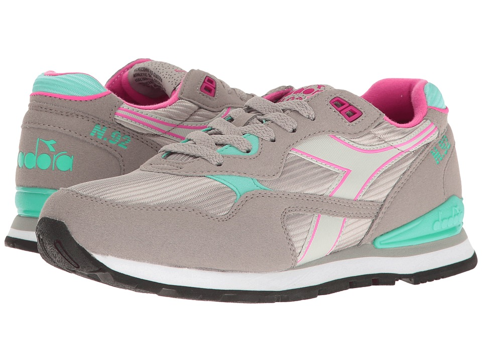 Diadora - N-92 (Ash/Bright Rose) Women's Shoes