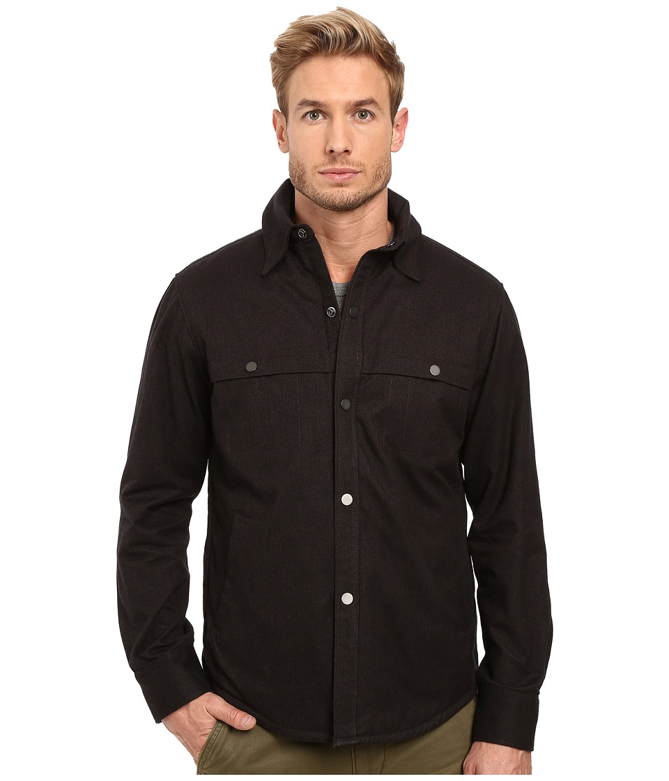 Exley NB - Apex Shirt Jacket (Oil) Men's Long Sleeve Button Up
