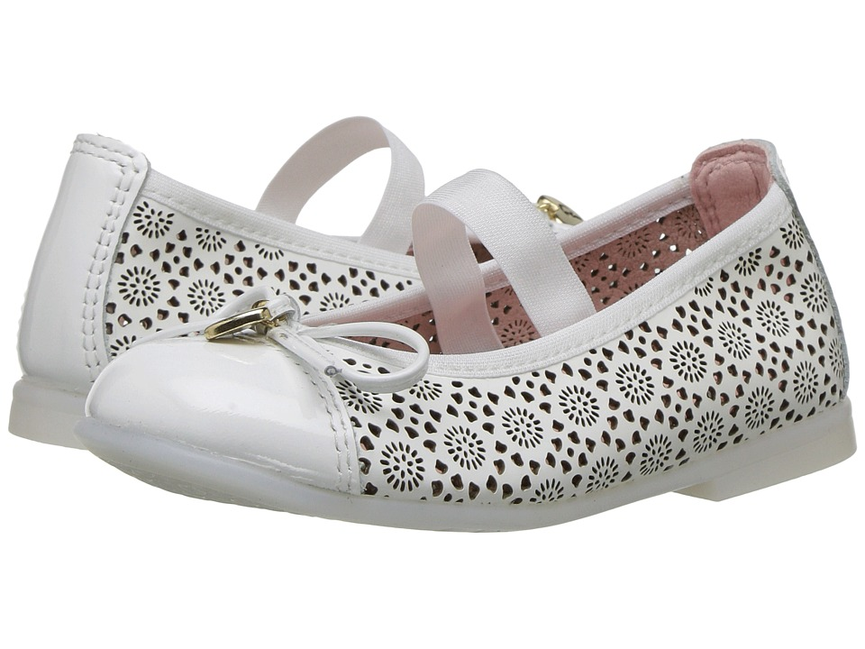 Pablosky Kids - 3185 (Toddler/Little Kid) (White) Girl's Shoes