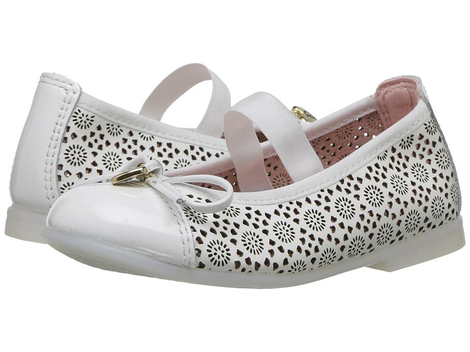 Pablosky Kids - 3185 (Toddler/Little Kid) (White) Girl's Shoes