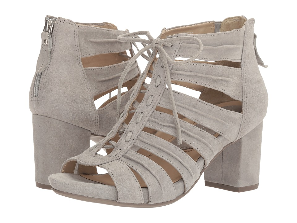 Earth - Saletto Earthies (Pale Grey Suede) Women's Shoes