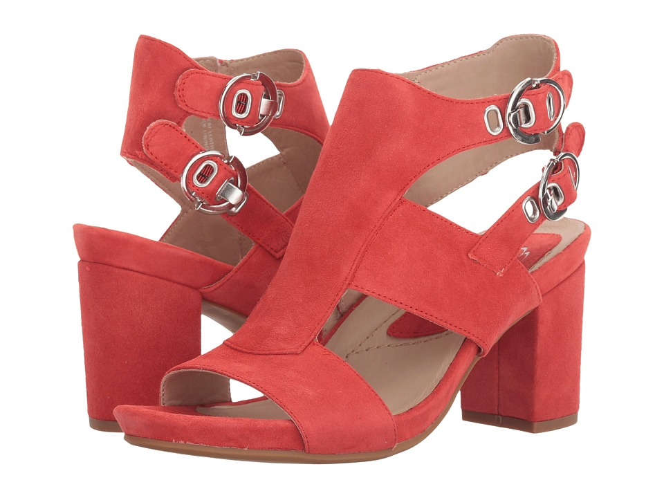 Earth Marino Earthies (Bright Coral Suede) Women