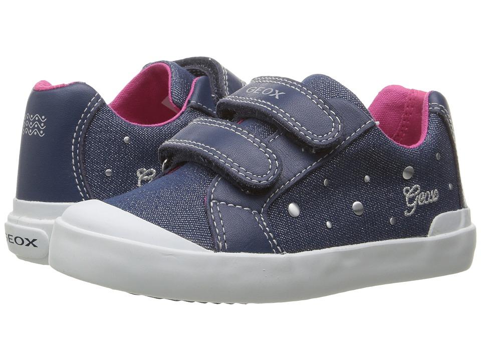 Geox Kids - Jr Kiwi Girl 84 (Toddler) (Avio) Girl's Shoes