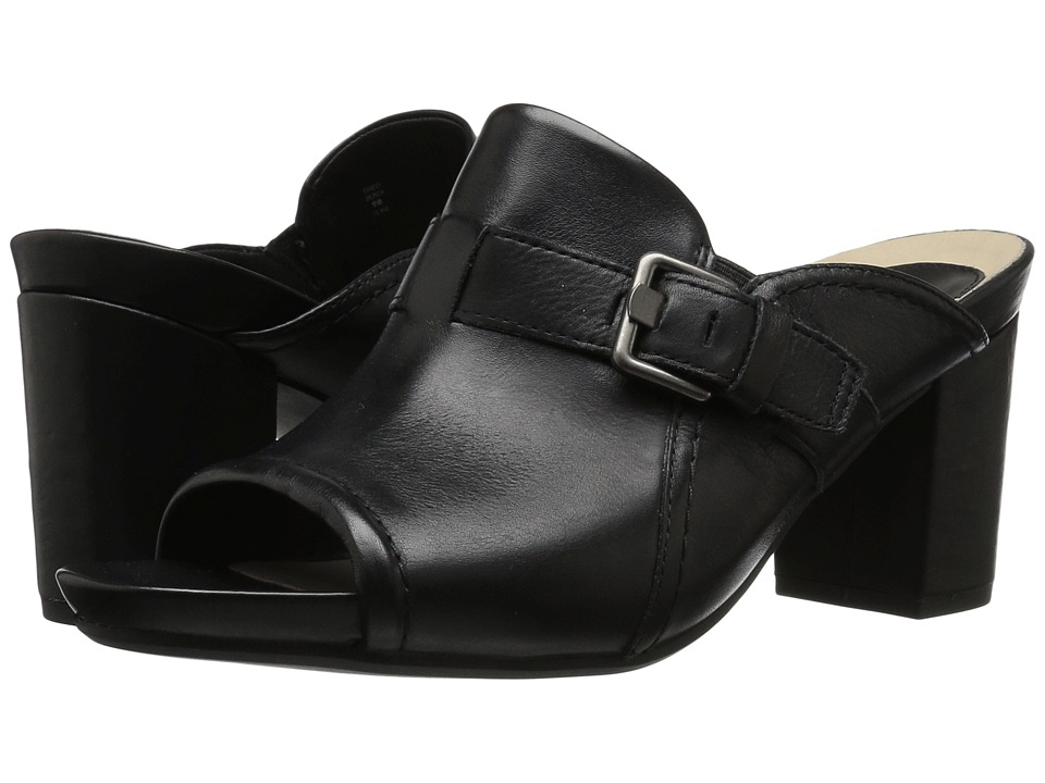 Earth - Trevi Earthies (Black Soft Leather) Women's Shoes