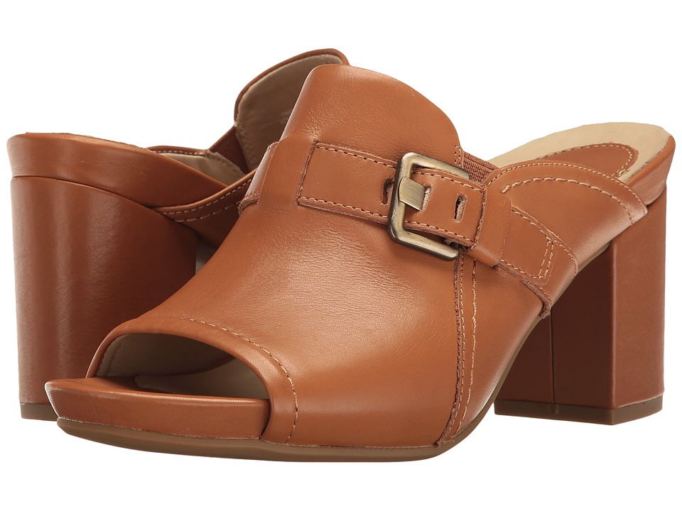 Earth - Trevi Earthies (Cognac Soft Leather) Women's Shoes