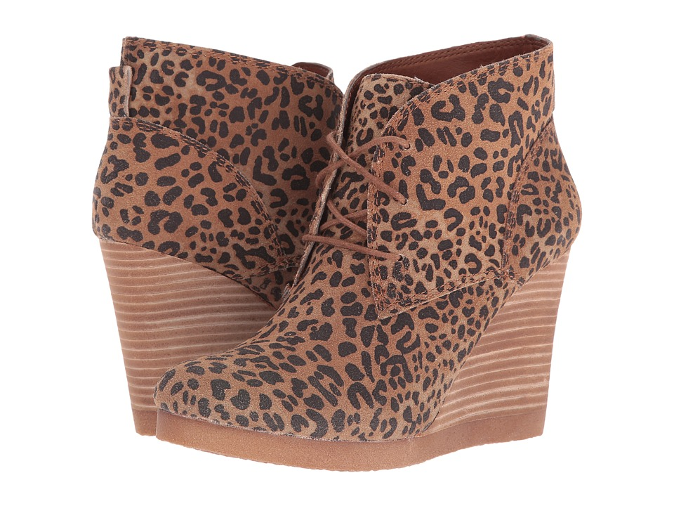 Lucky Brand - Taheeti (Bronx Leopard) Women's Wedge Shoes