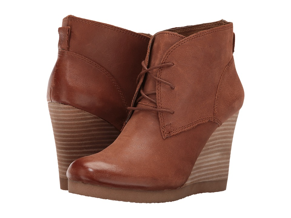 Lucky Brand - Taheeti (Chipmunk) Women's Wedge Shoes